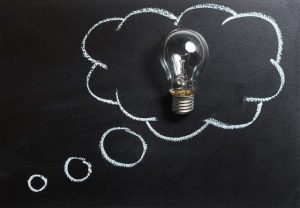 "<img src=""ideas.jpg"" alt=""A Light bulb inside a thinking cloud in a classroom board"">"